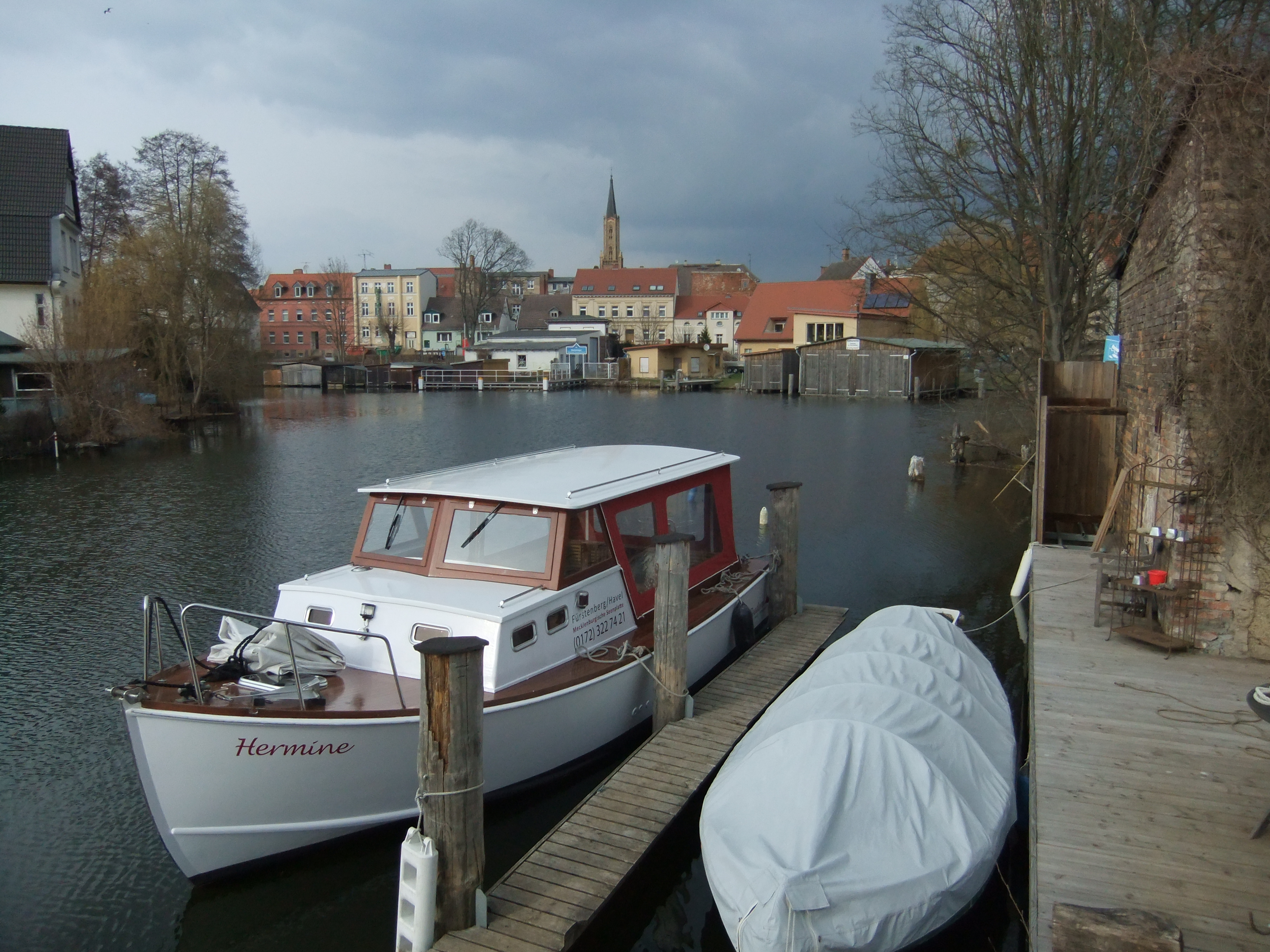 alte Reederei Fürstenberg 2011